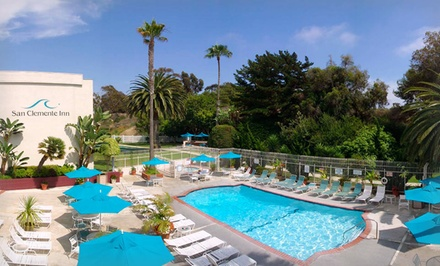 Stay at San Clemente Inn in San Clemente, CA. Dates into April.