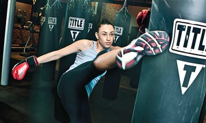 Title Boxing Club : $19 for Two Weeks of Boxing and Kickboxing Classes with Hand Wraps at TITLE Boxing Club ($59 Value)