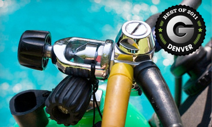 Coral Key Scuba and Travel Center - Lamar Heights: Open-Water or PADI Enriched-Air Diving-Certification Course at Coral Key Scuba & Travel Center in Arvada (Half Off)