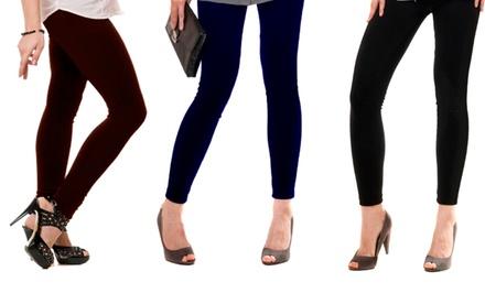 Plus Size Leggings (3-Pack)