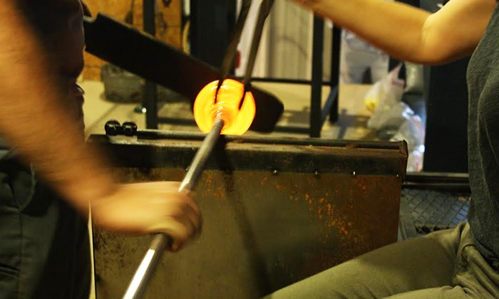 Circle 6 Studios - Phoenix: Fall Fun with Glass Blowing Class for One, Two, or Four at Circle 6 Studios (Up to 57% Off)