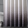 Dainty Home Lace-Ombre Patterned Shower Curtain