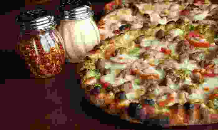 Chiusano's Brick Oven Pizzeria - I-435 West Kc-ks: Pizza Meal for Two at Chiusano's Brick Oven Pizzeria (Up to 51% Off). Three Options Available.