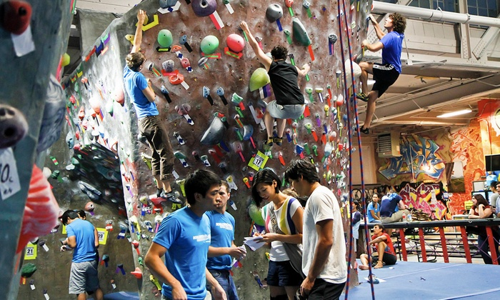 Brooklyn Boulders - Brooklyn Boulders: Indoor Rock Climbing with Option for Intro Classes at Brooklyn Boulders (Up to 80% Off). Four Options Available.