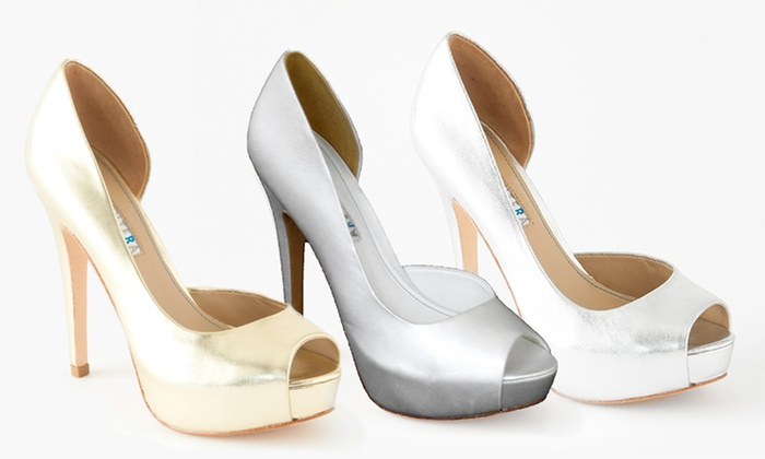 David Tutera Women's Passion D'Orsay Peep-Toe Pump: David Tutera Women's Passion D'Orsay Peep-Toe Pump. Multiple Options Available. Free Returns.