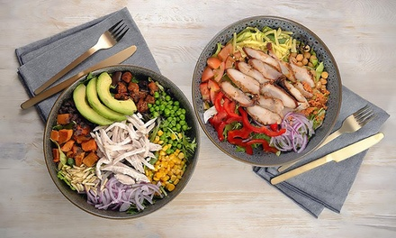 Choice of Medium Salad with Drink $7 or Fresh Juice $9 at SaladWorks Piccadilly Up to $18 Value