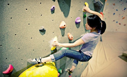 2-Hour Intro to Bouldering Course and 2-Week Pass Including Rentals (a $140 value) - The Hive  in Vancouver