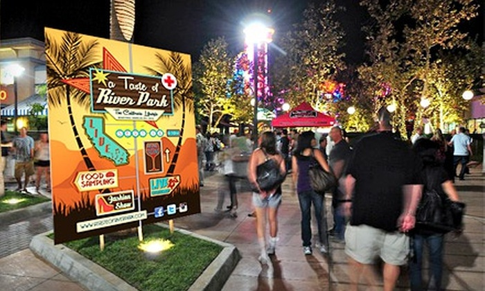 A Taste of River Park - Woodward Park: $40 for Food, Wine, and Fashion Festival Admission for 2 to A Taste of River Park onSaturday, September 14 ($80 Value)