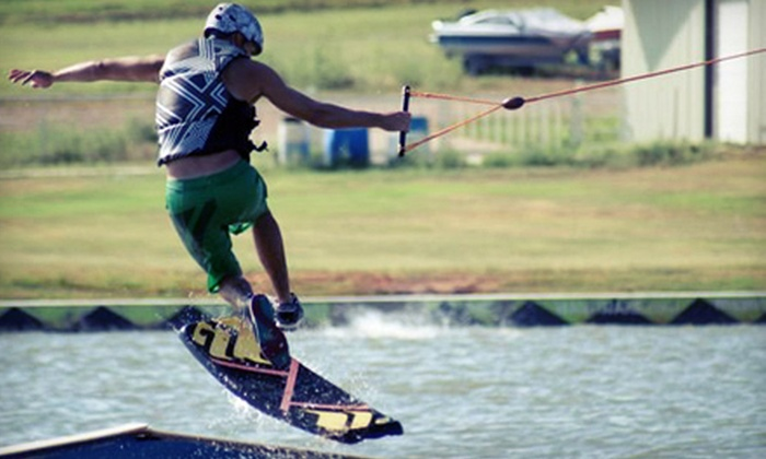 Wake Zone Cable Park - Wake Zone Cable Park: Two- or Four-Hour Wakeboarding Cable Pass at Wake Zone Cable Park (51% Off)