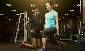 Golds Gym: One- or Two-Month Membership with Personal Training and Health Coaching at Golds Gym (Up to 82% Off)