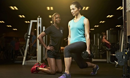 One- or Two-Month Membership with Personal Training and Health Coaching at Golds Gym (Up to 82% Off)