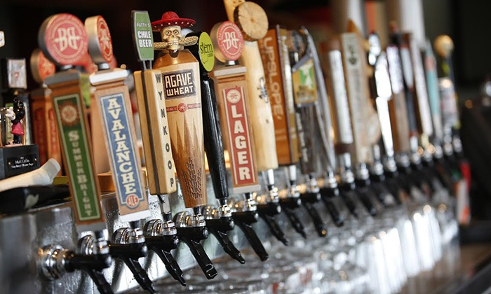 The Mainline Ale House - Downtown Fort Collins: $49 for Brunch & 4 Location Brewery Tour Package for 1 Starting at The Mainline Ale House ($75 Value). Various Dates.