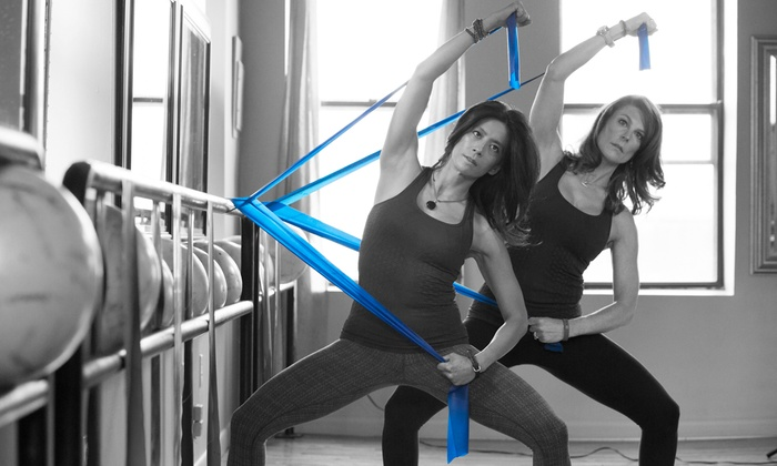 C2 Pilates - Multiple Locations: Three Barre Classes or a One-Day Barre-Certification Course from C2 Pilates (Up to 55% Off)