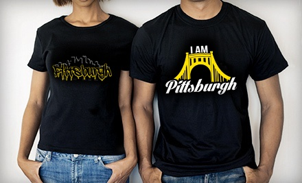 $25 for $50 Worth of T-Shirts and Hoodies from I Am Pittsburgh Clothing