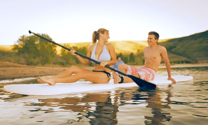 Adventure Haus - North Wasatch: Stand-Up Paddleboard Excursion for Two from Adventure Haus (Up to 52% Off)
