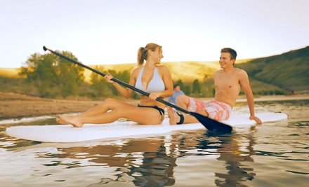 Stand-Up Paddleboard Excursion for Two from Adventure Haus (Up to 52% Off)