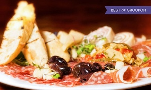 The Butcher Block Restaurant: $35 for $60 Worth of Sustainable Italian Food and Drinks for Dinner at The Butcher Block Restaurant