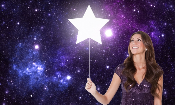 International Star Registry: $19.99 for Name Your Own Star Personalized Package ($65 value)