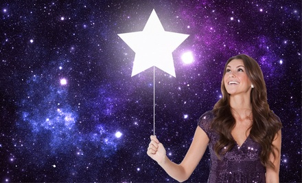 $19.99 for Name Your Own Star Personalized Package ($65 value)