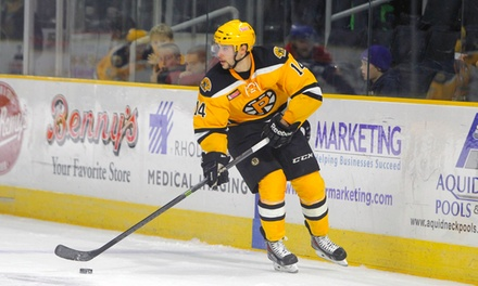 $18 for a Regular-Season Providence Bruins Hockey Game at Dunkin' Donuts Center (Up to $38 Value)