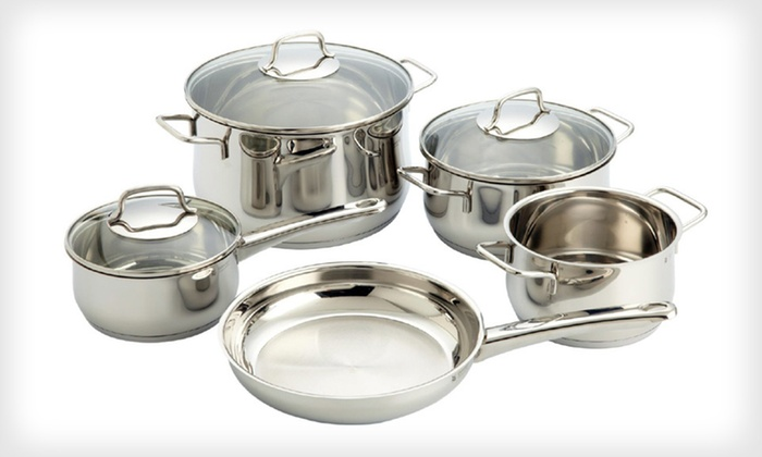 Eight-Piece WMF Collier Cookware Set: $79 for WMF Collier Eight-Piece Cookware Set ($390 List Price). Free Shipping and Free Returns.