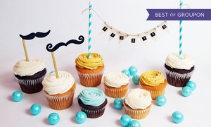 Cupcake Á La Mode: 6 or 12 Gourmet Cupcakes at Cupcake Á La Mode (Up to 38% Off)