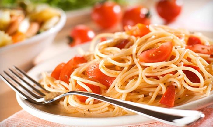 Manolo's Italian Restaurante & Pizzeria - City Of Zephyrhills: Italian Prix Fixe Dinner for Two or Four at Manolo's Italian Restaurante & Pizzeria (Up to 54% Off)