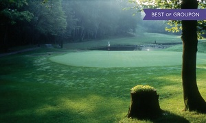 Fairmont Le Chateau Montebello Golf Club: CC$99 for Golf, Swimming, & 20% Off Lunch for Two at Fairmont Le Chateau Montebello Golf Club (CC$232 Value)