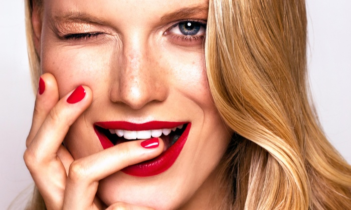 Izel Salon & Spa - St. Charles: No-Chip Manicure and Pedicure Package from Izel Salon (50% Off)