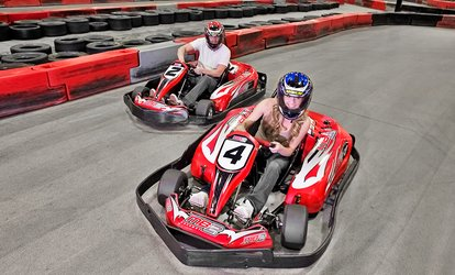 image for Junior or Adult Go-Kart Races, VIP Track Pass with Race Discounts, or Birthday Party Package at MB2 Raceway (Up to 48% Off)