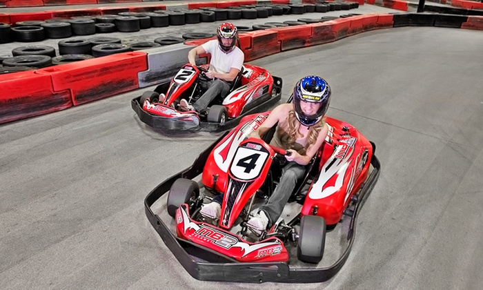 MB2 Raceway Inc. - Des Moines: One or Three Junior or Adult Go-Kart Races, or VIP Track Pass with Race Discounts at MB2 Raceway (Up to 50% Off)