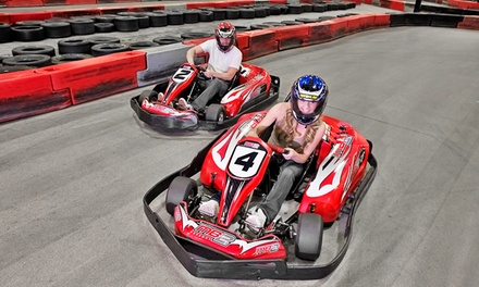 One or Three Junior or Adult Go-Kart Races, or VIP Track Pass with Race Discounts at MB2 Raceway (Up to 50% Off)