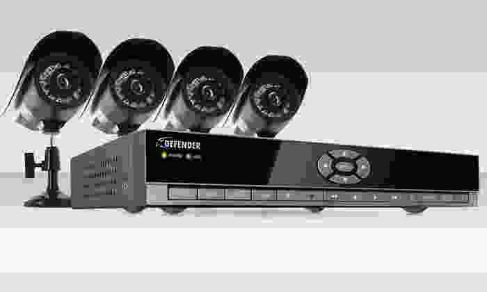 Defender 4-Channel DVR Security System: $179.99 for a Defender 4-Channel DVR Home Security System ($674.99 List Price). Free Shipping and Returns.