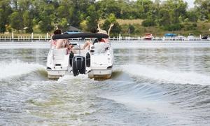 Calabernardo Gambero Rosso: Noleggio di moto d'acqua o barca a motore fino a 6 persone con Calabernardo Gambero Rosso (sconto fino a 67%)