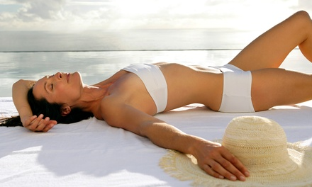 One or Three Organic Airbrush Tans at Ultimate Body Shaping (Up to 55% Off)