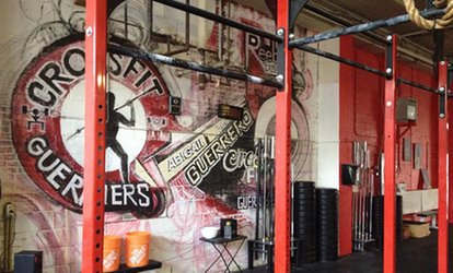 10 CrossFit Sessions for One or Two at CrossFit Guerriers (77% Off)