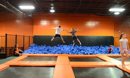 Two Hours of Jumping for One, Two, or Four at Urban Air Trampoline Park