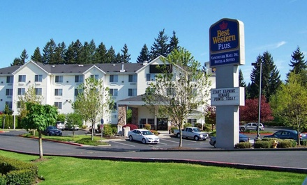 Stay at Best Western Vancouver Mall Hotel & Suites in Vancouver, WA