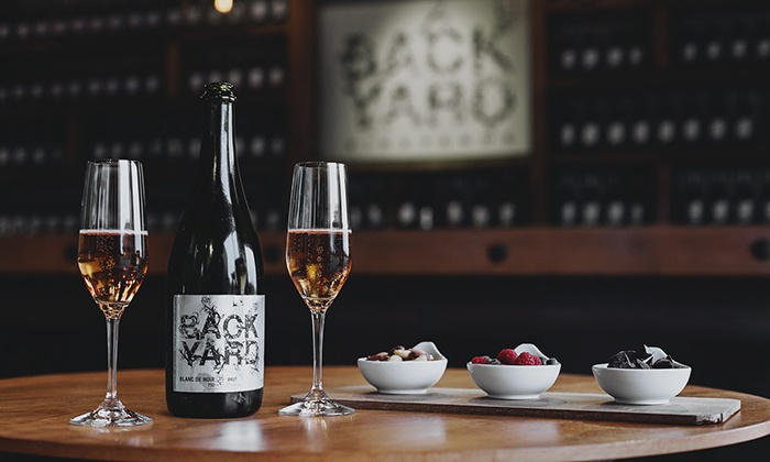Backyard Vineyards - Backyard Vineyards - Kirkwood Diamond Canada: Bubble Tour, Flavor Tutorials, and Food Pairing for Two or Four at Backyard Vineyards (Up to 48% Off)