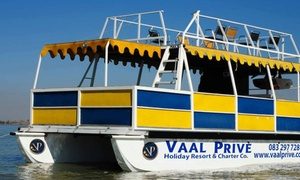 Vaal Prive Boat Cruise (Local): Boat Cruise from R299 for Two at Vaal Privè Boat Cruise (Up to 60% Off)