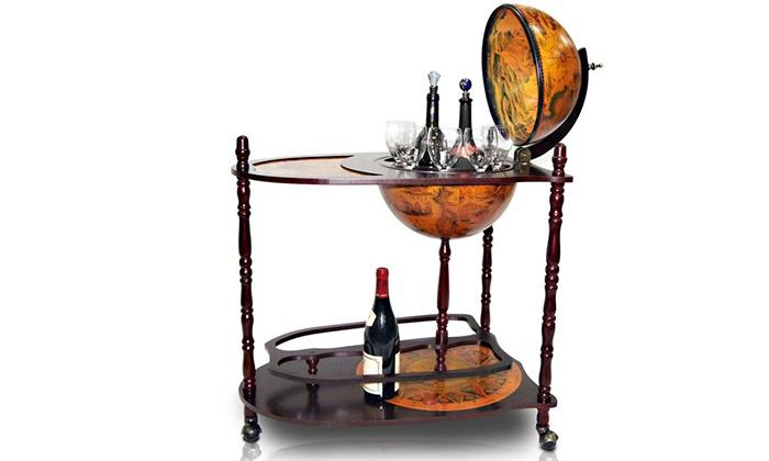 Globe bar drinks cabinet groupon goods gumiabroncs Images