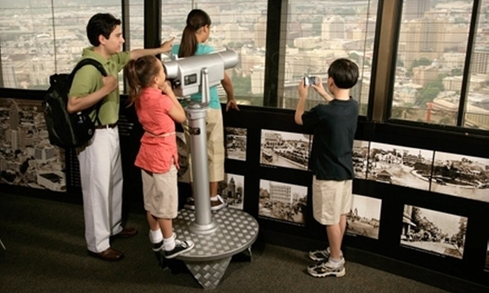 Tower of the Americas - Downtown: $22 for an Observation-Tower Experience for Four at Tower of the Americas (Up to $43.80 Value)
