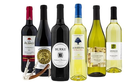 Delivery of 6 Bottles of Wine with Optional Wine Club Access from Barclays Wine (Up to 81% Off)