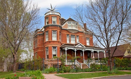 groupon daily deal - 1- or 2-Night Stay in a Suite for Two with a History Book at Lumber Baron Inn in Denver, CO