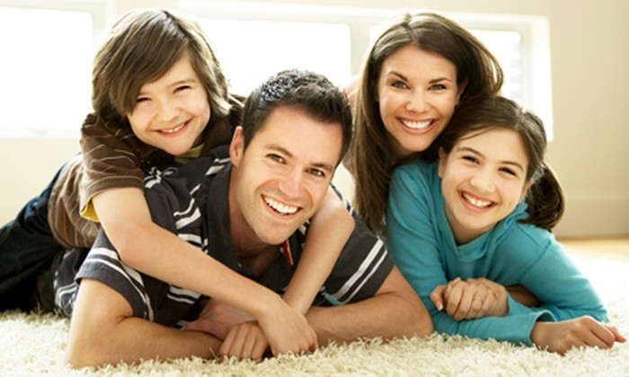 Clean Green Carpet Cleaning - Salt Lake City: Carpet Cleaning for Three or Five Rooms from Clean Green (Up to 53% Off)