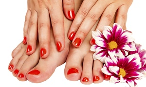 Hedley & Co: Bio Seaweed Gel Polish Manicure or Pedicure (£11) or Both (£18) at Hedley & Co (Up to 66% Off)
