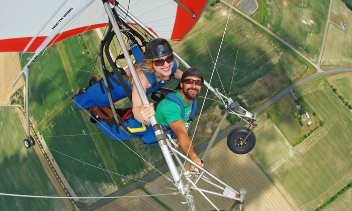 Highland Aerosports - Ridgely: $175 for a 3,000-Foot Tandem Hang-Gliding Flight from Highland Aerosports ($295 Value)