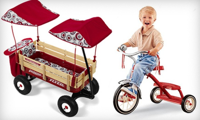 Radio Flyer: $25 for $50 Worth Of Kids' Wagons, Trikes, and Scooters from Radio Flyer