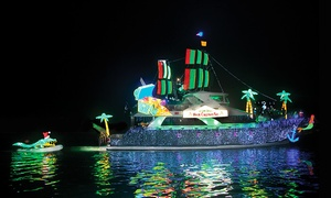 Davey's Locker: Boat Parade of Lights or Holiday Lights Cruise with Optional Drinks at Davey's Locker Cruises (Up to 52% Off)