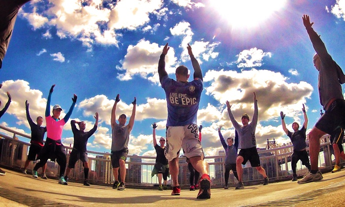 Epic Gym - Midtown East: Three or Six 60-Minute Spartan Run Workouts at Epic Gym (Up to 82% Off)